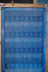 A silkscreen